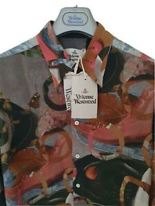 BNWT-Mens-VIVIENNE-WESTWOOD-long-sleeve-shirt-size-46-medium-RRP-340