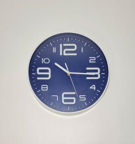 12 Inch 3D Wall Clock Modern Design Large Round Home Office Decor Silent Clocks