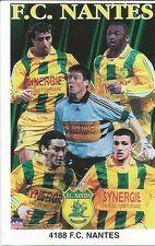 FC NANTES COLLAGE FRANCE Original Starline Poster MINI Promo Piece 3x5