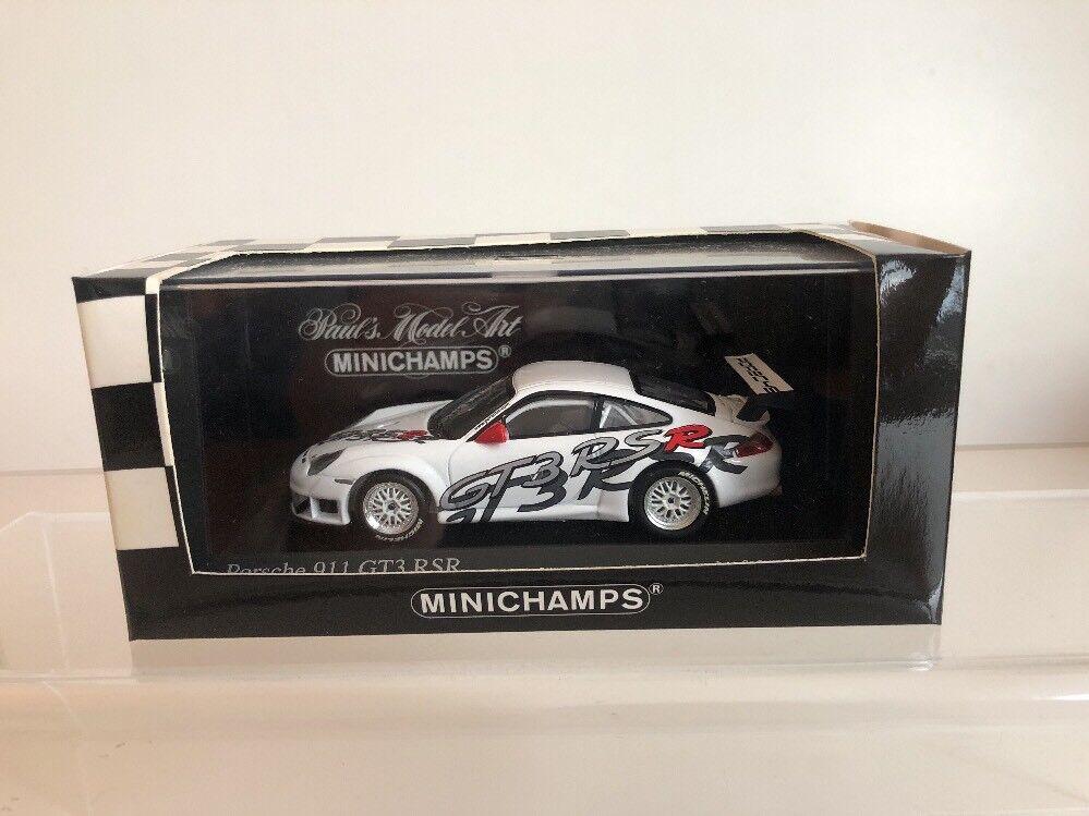 Minichamps 1 43 Porsche 911 GT3 RSR 2003 Presentation Model V Rare 996
