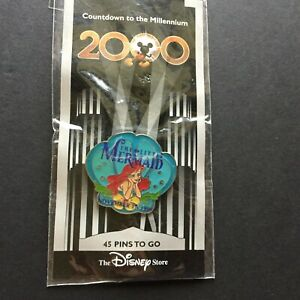 DS-Countdown-the-Millennium-Series-46-The-Little-Mermaid-Ariel-Disney-Pin-705