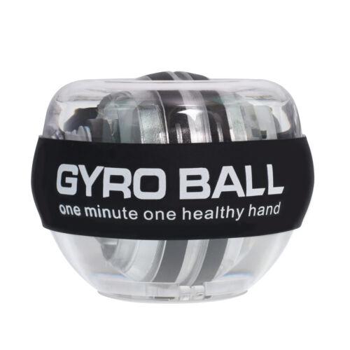 LED Wrist Ball Trainer Gyroscope Strengthener Gyro Power Ball Arm Exerciser