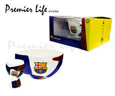 FC Barcelona Spyrus Breakfast Set - Cereal Bowl and Egg Cup