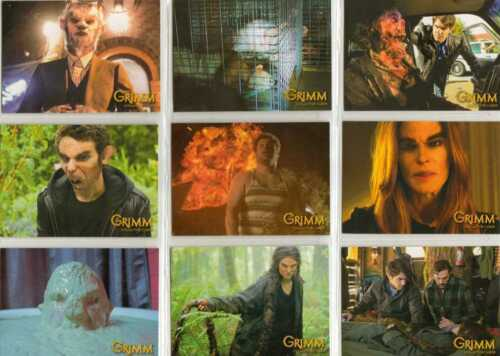 Grimm Season 1 Full 72 Card Base Set of Trading Cards from Breygent