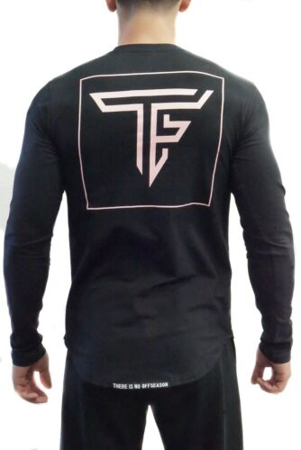 Alphalete, Tino Fit Wear Black TF Block Long Sleeve