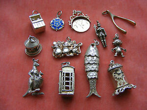 ciondoli argento vintage