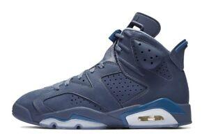 0a7c080575cd46 Nike Air Jordan Retro VI 6 Diffused Blue Jimmy Butler 384664-400 GS ...