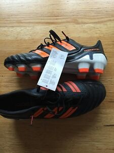 3c2cc7f4e03e Image is loading adidas-adipower-Predator-TRX-FG-Black-Warning-White