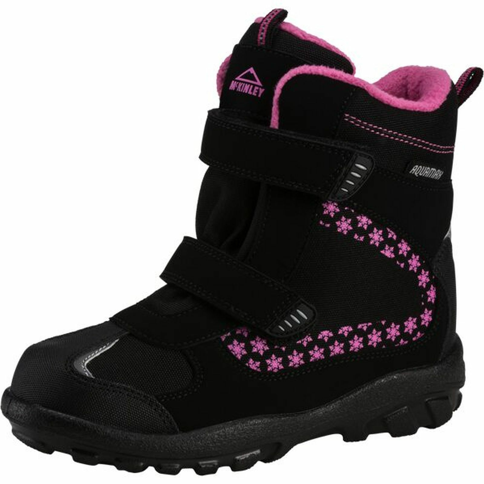 McKinley Mädchen Winterstiefel SNOWTIME AQX ISE black pink