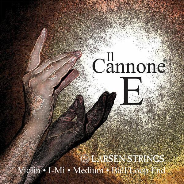 Larsen Violin Strings Il Cannone Medium 4 4