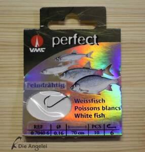 VMC-Perfect-Weissfischhaken-gebundene-Haken-feindraehtige-Haken-versch-Groessen