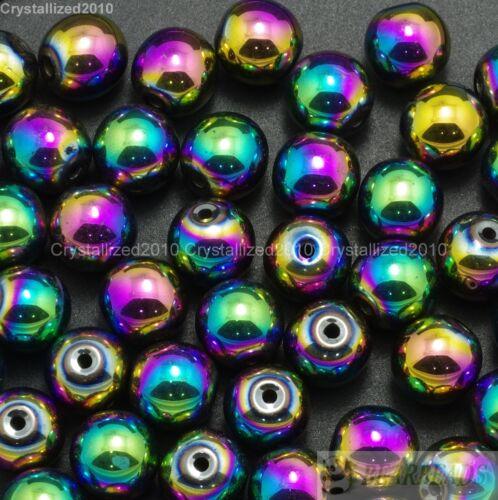 Al por mayor Piedras preciosas Naturales Redonda Bola espaciador granos flojos 4mm 6mm 8mm 10mm 12mm