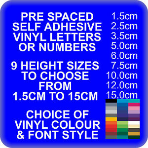 Custom Self Adhesive Vinyl Lettering Letters For Prespaced Words - Self adhesive vinyl letters