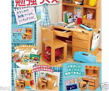 New Re-ment Miniature Elementary School Goods Set rement Study Desk +chair