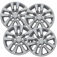 "New 2013 2017 Fits Nissan Altima 16/"" Wheel Covers Hubcaps 10 Spoke Set of Four"