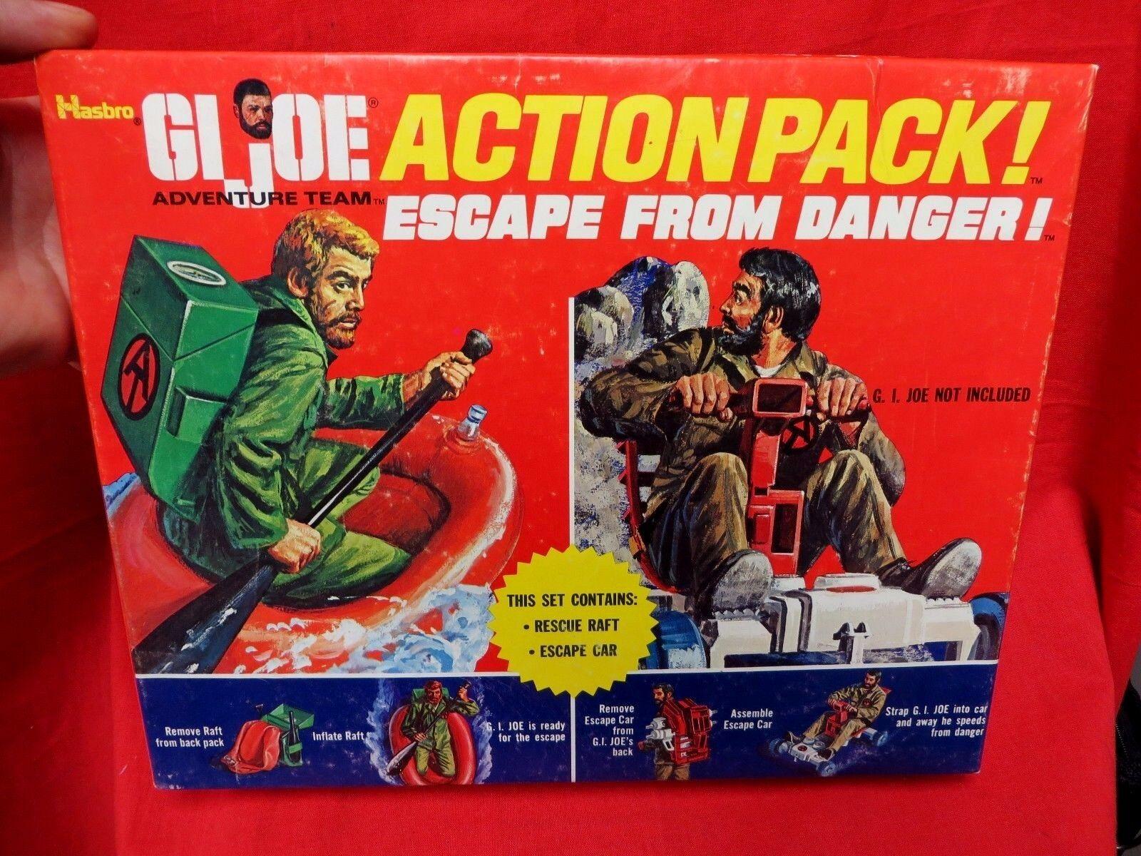 1964 vintage de GI Joe joezeta  1971 Sears exclusivo paquete de acción escapar del peligro