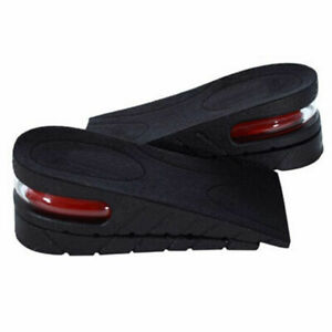 Unisex-Increase-Insole-Shoe-Insole-Air-Cushion-Heel-insert-Tall-Height-Lift-RF