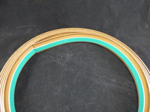 """/""""3,31€//m/"""" Abdeckleiste Fensterleiste Flachleiste Renolit 2178 Nussbaum  40mm SK"""