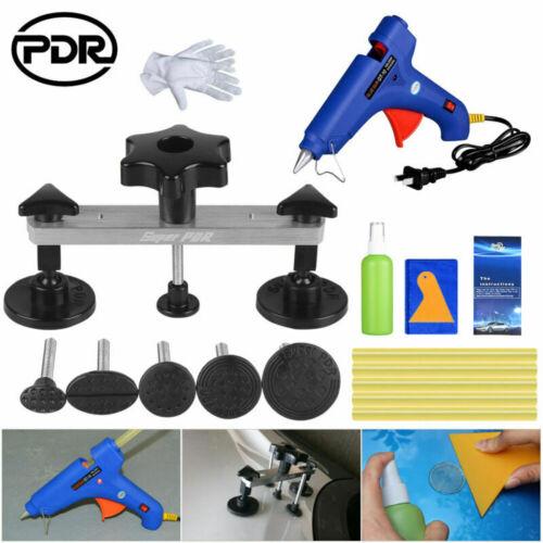 Paintless Dent Removal PDR Car Body Repair Hand Tools Kit Glue Gun Puller Bridge