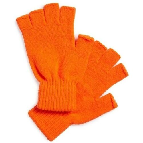 THE RAIL 139295 Fingerless Gloves Col Orange One Size