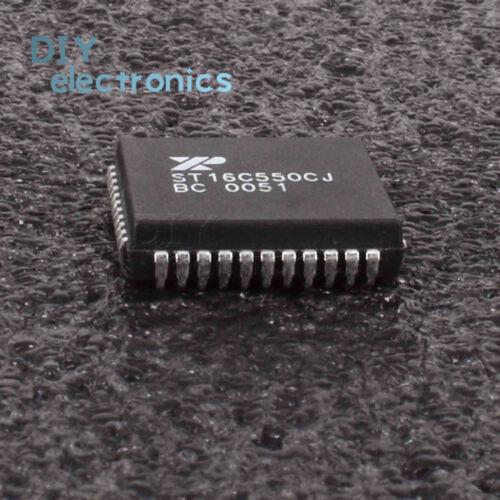 5PCS ST16C550CJ PLCC-44 HIGH PERFORMANCE INTEGRATED CIRCUIT