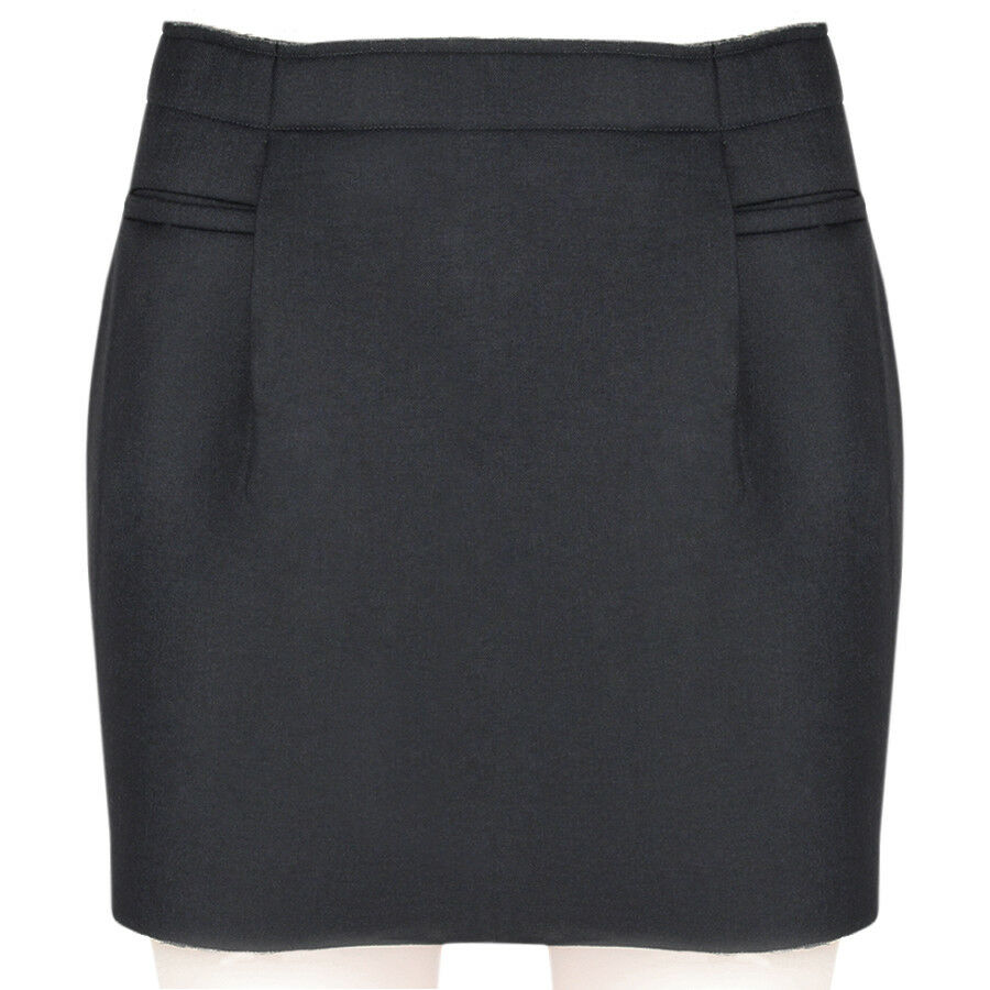 J W Anderson Slate Grey Mini Skirt UK8 IT40