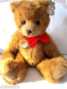 GUND COLLECTORS CLASSICS DICKENS STYLE 2030 BEAR 1986 W/ALL TAG EX. COND