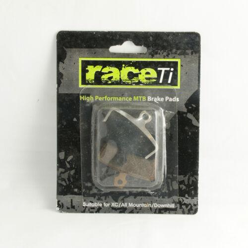 Avid Code R 2011 onward Hydraulic Disc Brake Pad Shoe Semi Metal Organic raceTi
