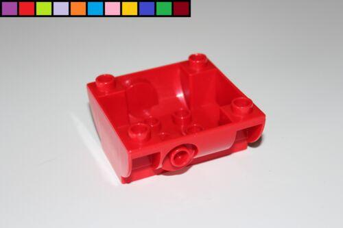 Container Unterteil Aufsatz Feuerwehr rot Lego Duplo Wassertank Cargo