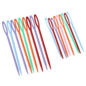 18-pcs-Plastic-Hand-Sewing-Yarn-Darning-Tapestry-Needles-Craft-Y8E4-R6A3