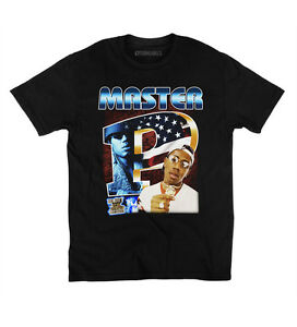 Master p vintage style t shirt 90s rap tee no limit for Vintage record company t shirts