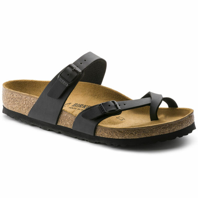 *NEW* MAYARI 37 M SIZE 6-6.5 US WOMEN {BLACK} BIRKO-FLOR SANDALS BIRKENSTOCK