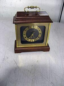 Used-Hamilton-Mantle-Clock-Quartz-Made-in-Germany-6-25-x-5-75-x-7-w-warranty