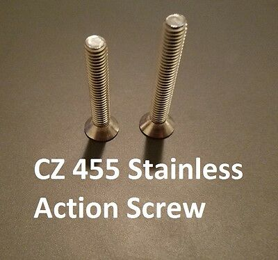 CZ 457 Upgraded Replacement STAINLESS STEEL Action Screws | eBay