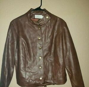 Russ-Ladies-leather-jacket-Size-14