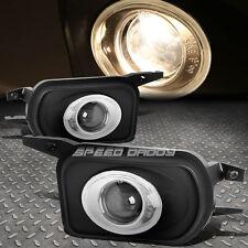 BLACK HOUSING CLEAR OEM BUMPER FOG LIGHT/LAMP FOR 00-07 MERCEDES W203 C-CLASS