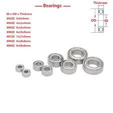 Miniature Double Shielded Bearings 693 694 695 696 697 698 699zz Bearing Steel