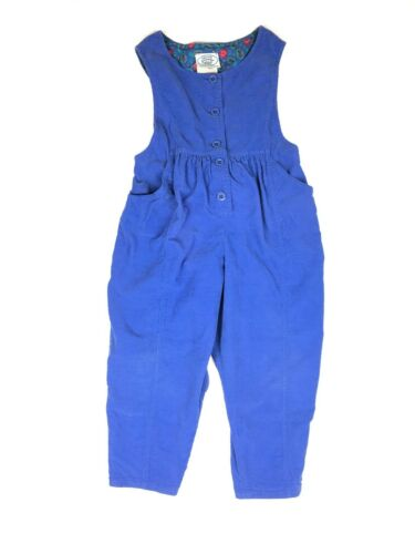 Vintage Laura Ashley Girl's Corduroy Jumpsuit Romp