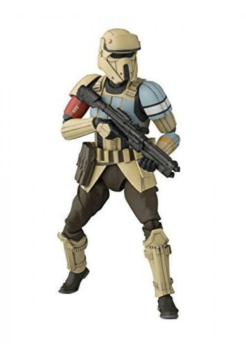 NEW STAR WARS SHORETROOPER SH FIGUARTS PLASTIC MODEL KIT F/S