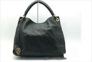 Louis-Vuitton-Monogram-Empreinte-Artsy-MM-M41066-Shoulder-Hand-Tote-Bag-Used