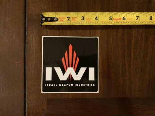 """IWI Israel Weapon Industries Hunting Rifle Firearm Sticker//Decal Approx 4/"""""""