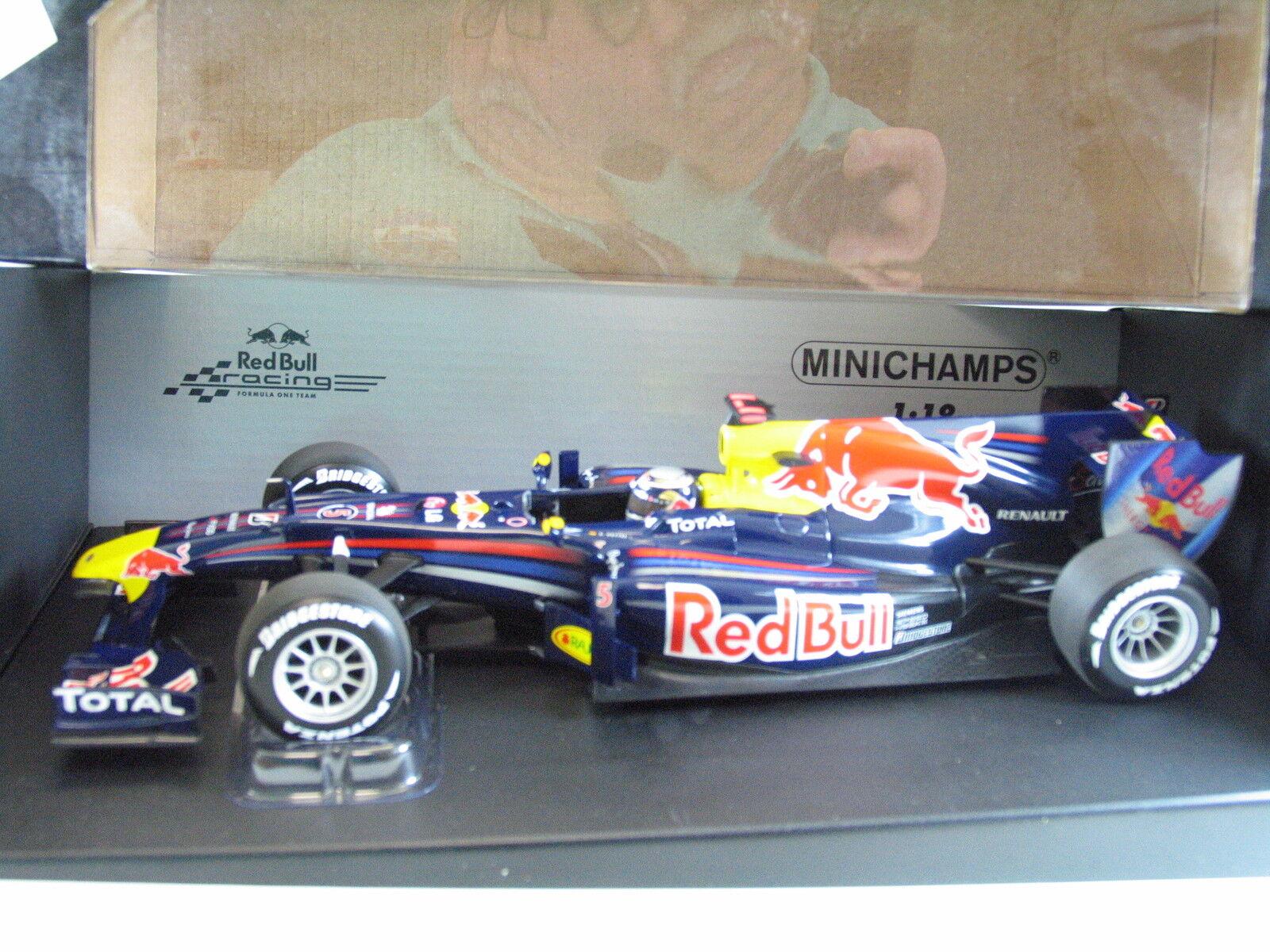 MINICHAMPS Lim.Ed.110-100005 Red Bull Renault RB 6  S. Vettel Japan 2010 B5255