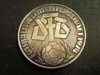 1 Medaille Silber, Fußball Weltmeisterschaft 74 (MedP-11)