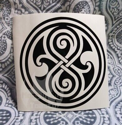 Doctor Who Inspired Seal of Rassilon Vinyl Decal Sticker Car Window