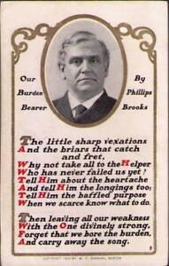 urh-Postcard-Our-Burden-Bearer-by-Phillips-Brooks