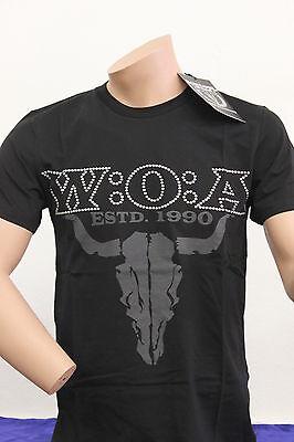 """Original Wacken T-Shirt  """" W:O:A  ESTD 1990 """" , Gr.M+ XL+XXL , Neuware!!"""