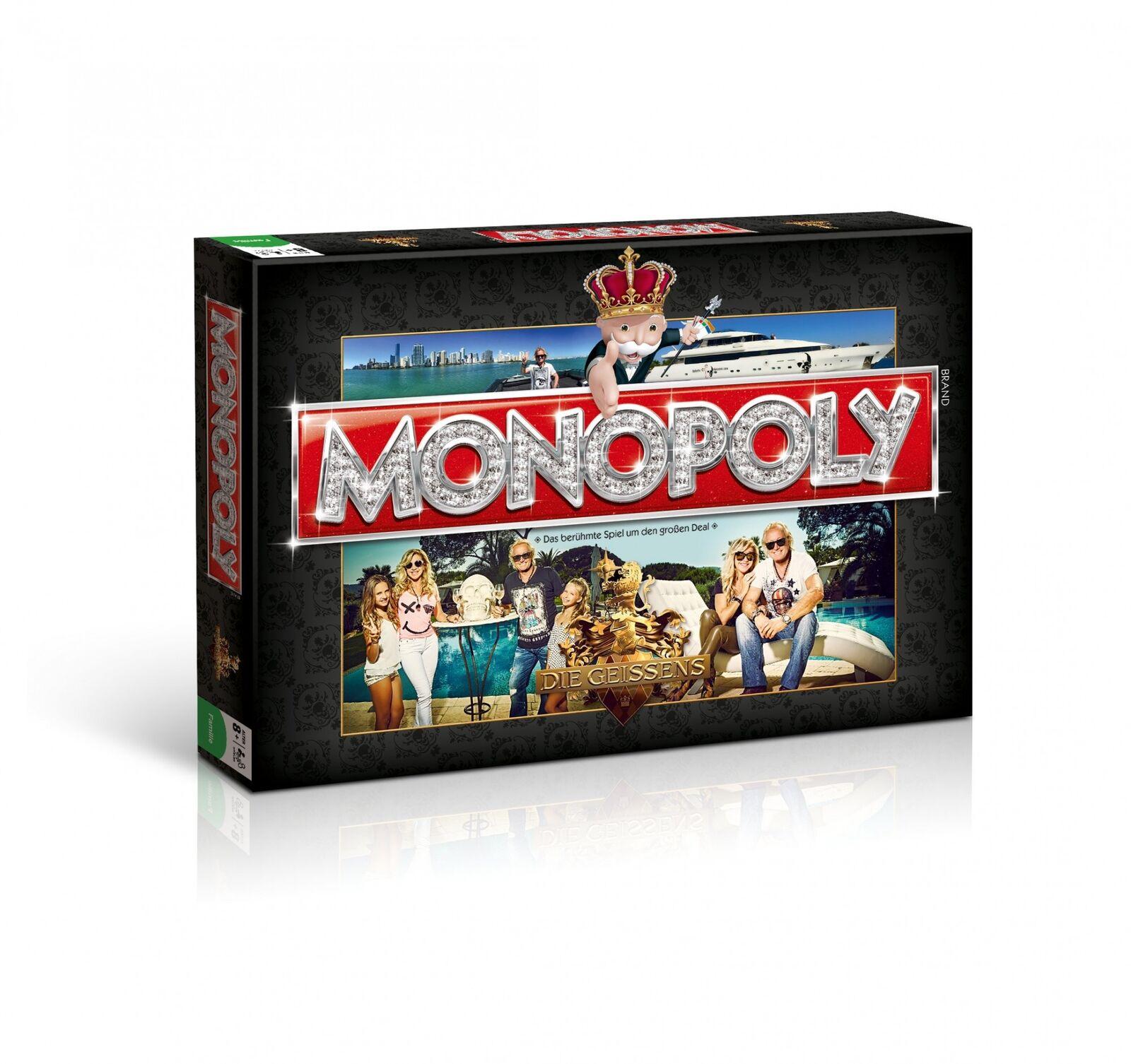 Monopol la geissens deluxe dorados figuras el juego de mesa juego de mesa