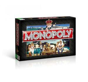 Monopoly-Die-Geissens-Deluxe-goldene-Figuren-Spiel-Brettspiel-Gesellschaftsspiel