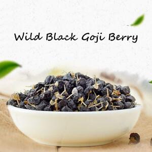 Organic Black Goji Berry Dried Lycii Wolfberry Chinese Herbal Tea
