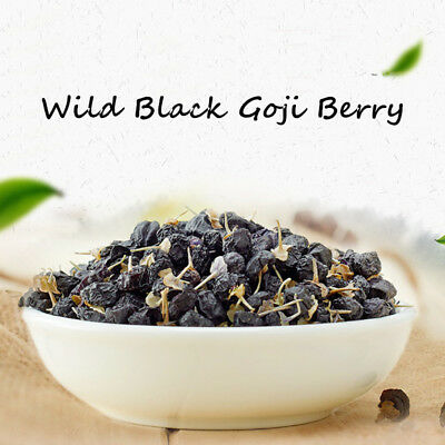 Organic Black Goji Berry Dried Lycii Wolfberry Chinese Herbal Tea